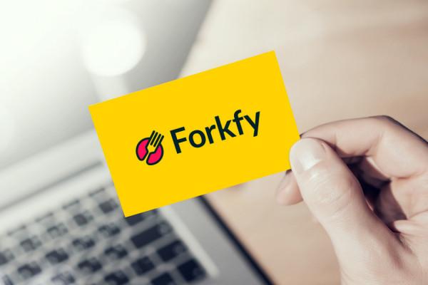 Sample branding #1 for Forkfy