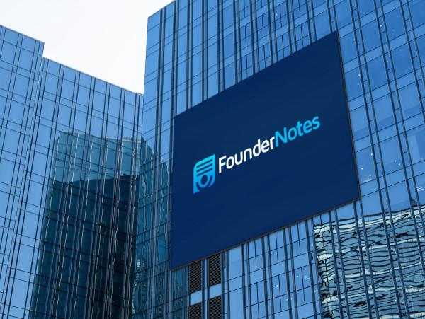 Sample branding #3 for Foundernotes