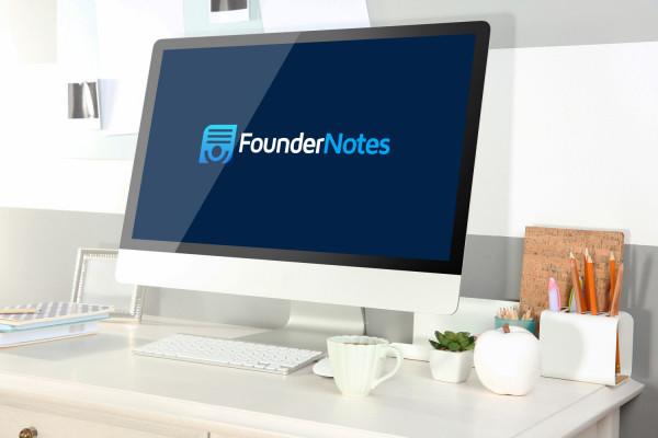 Sample branding #1 for Foundernotes