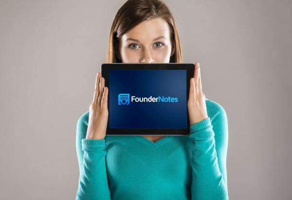 Sample branding #2 for Foundernotes