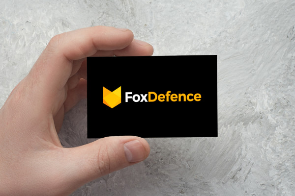 Sample branding #2 for Foxdefence