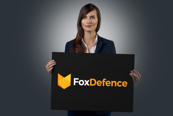 Sample branding #3 for Foxdefence