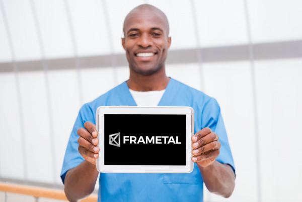 Sample branding #2 for Frametal