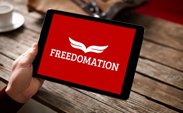 Sample branding #3 for Freedomation