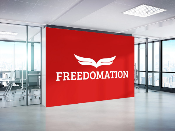 Sample branding #2 for Freedomation