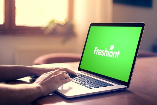 Sample branding #2 for Freshiant