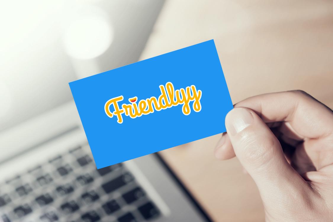 Sample branding #3 for Friendlyy