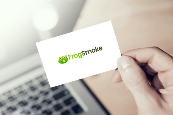 Sample branding #1 for Frogsmoke