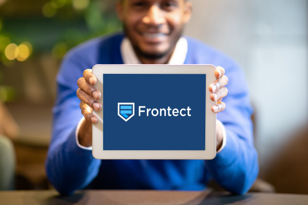 Sample branding #2 for Frontect