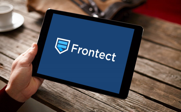 Sample branding #1 for Frontect
