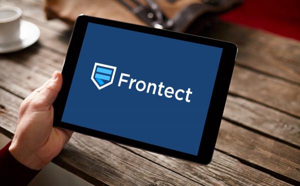 Sample branding #1 for Frontect