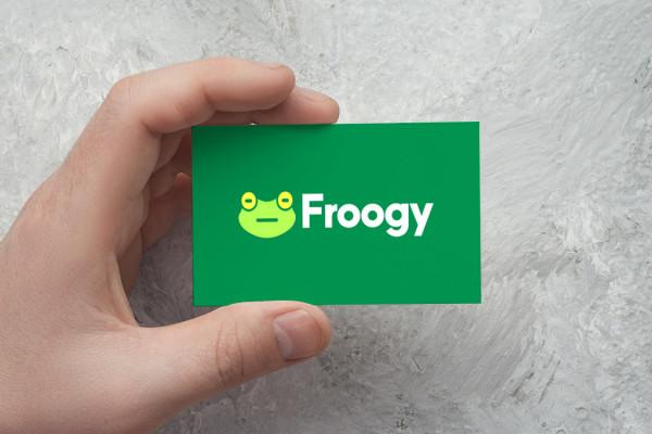 Sample branding #2 for Froogy