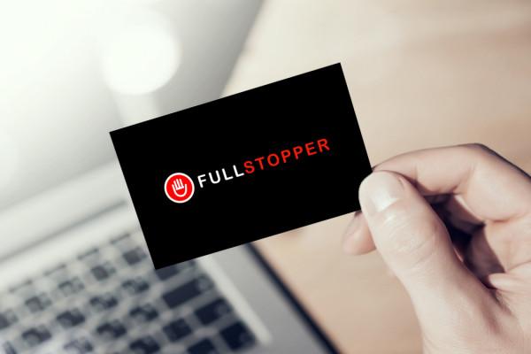 Sample branding #1 for Fullstopper