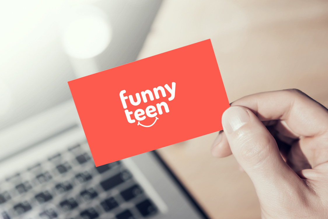 Sample branding #2 for Funnyteen