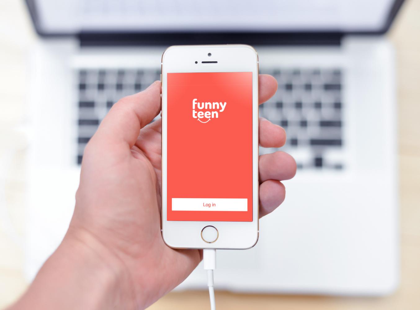 Sample branding #3 for Funnyteen