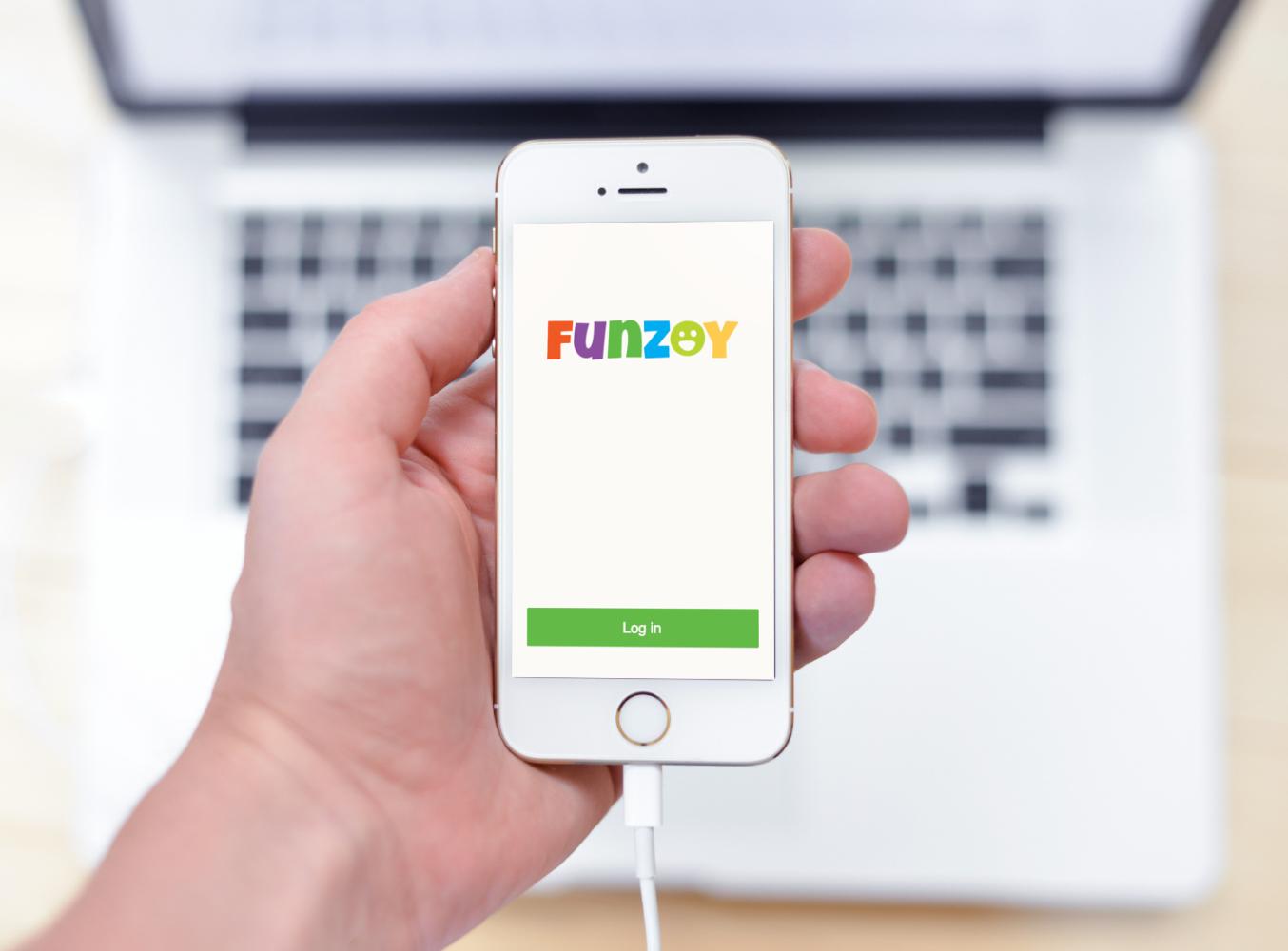 Sample branding #2 for Funzoy