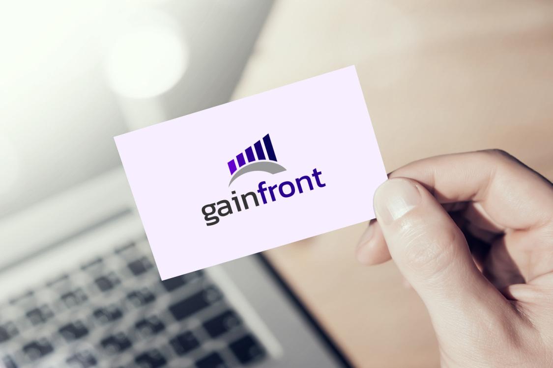 Sample branding #3 for Gainfront