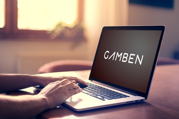 Sample branding #3 for Gamben