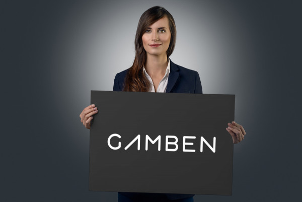 Sample branding #1 for Gamben