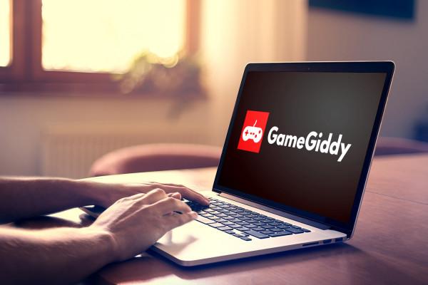 Sample branding #3 for Gamegiddy
