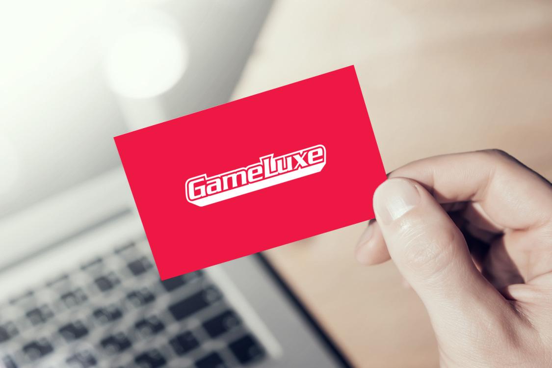 Sample branding #3 for Gameluxe