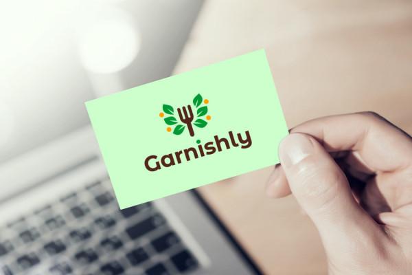 Sample branding #1 for Garnishly