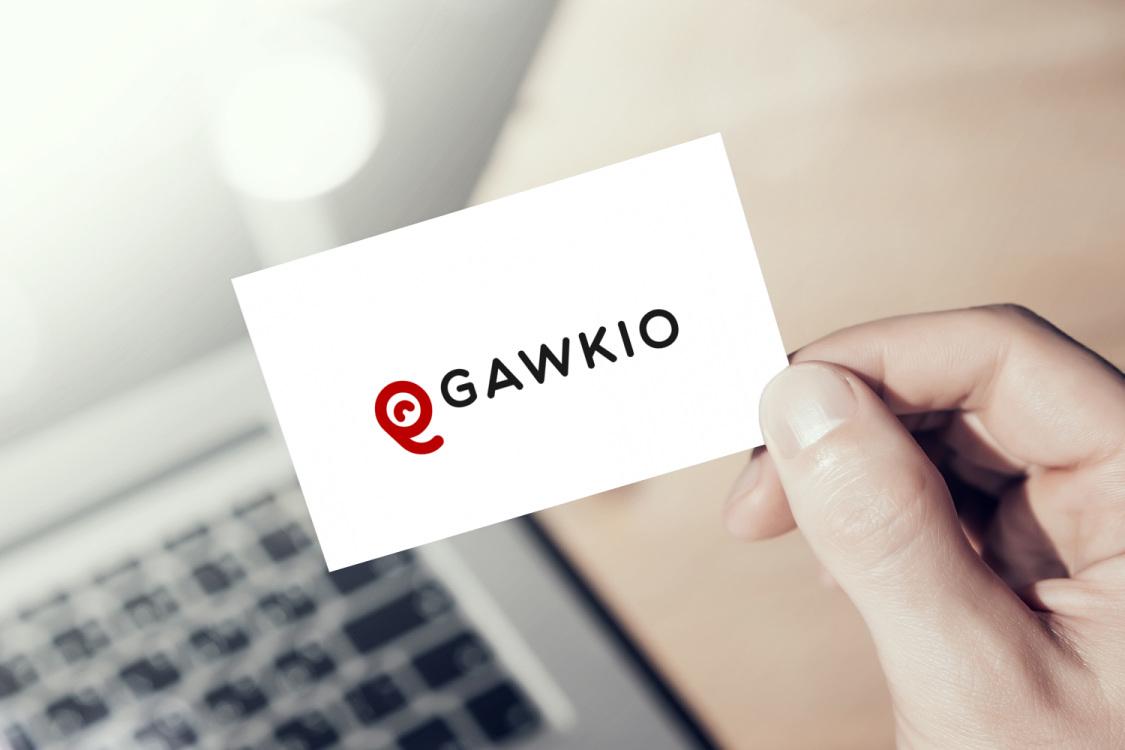 Sample branding #2 for Gawkio