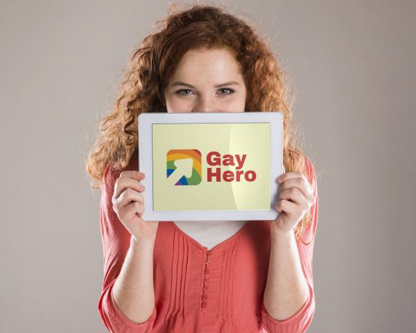 Sample branding #1 for Gayhero