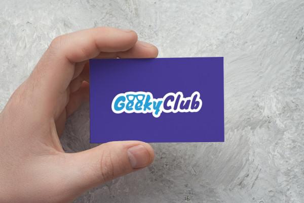 Sample branding #1 for Geekyclub