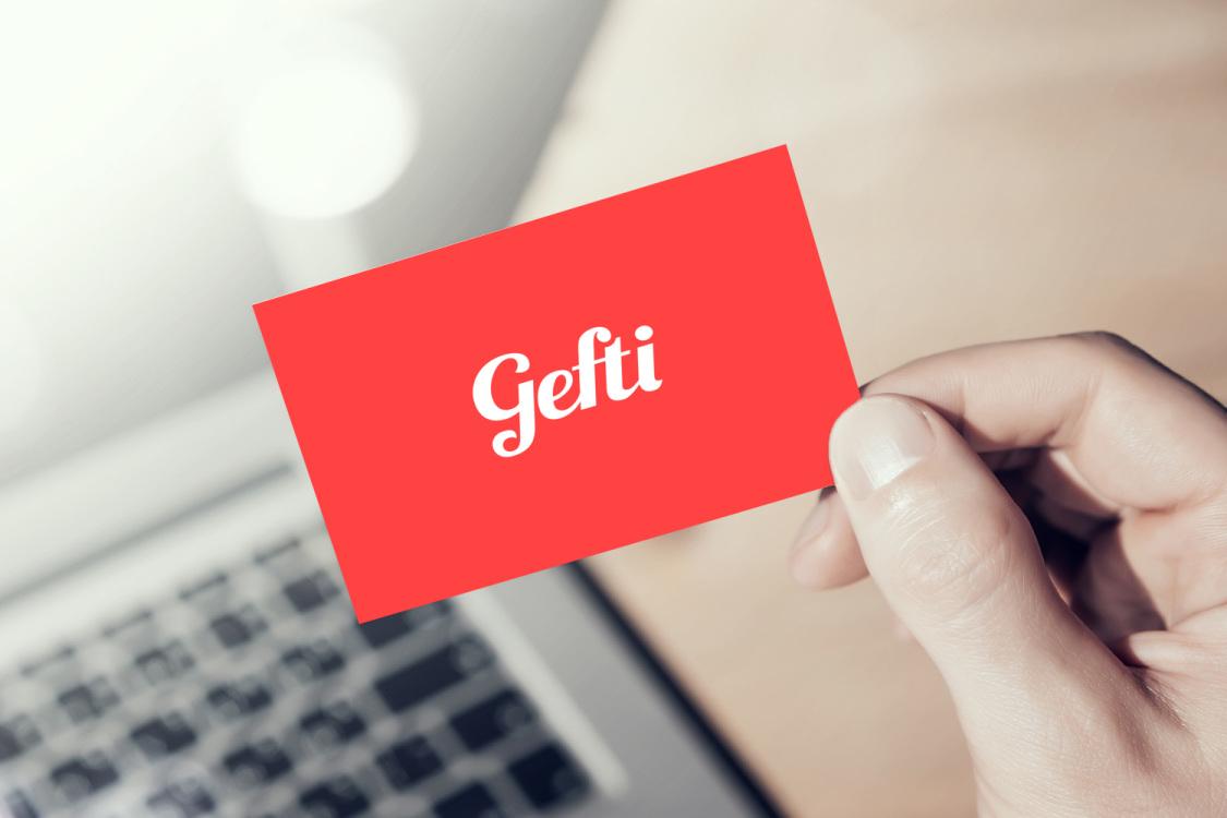 Sample branding #1 for Gefti