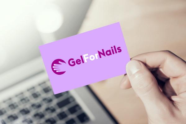 Sample branding #1 for Gelfornails