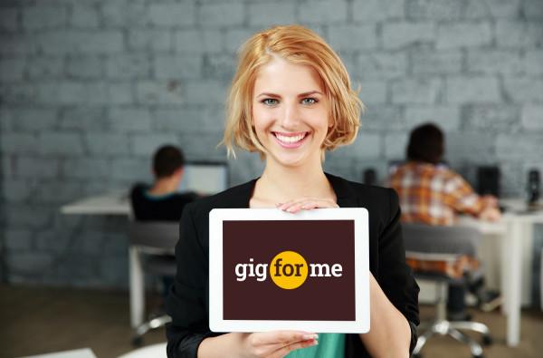 Sample branding #2 for Gigforme