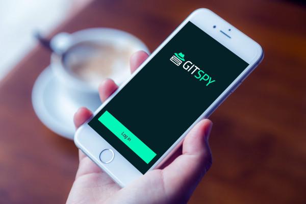 Sample branding #2 for Gitspy