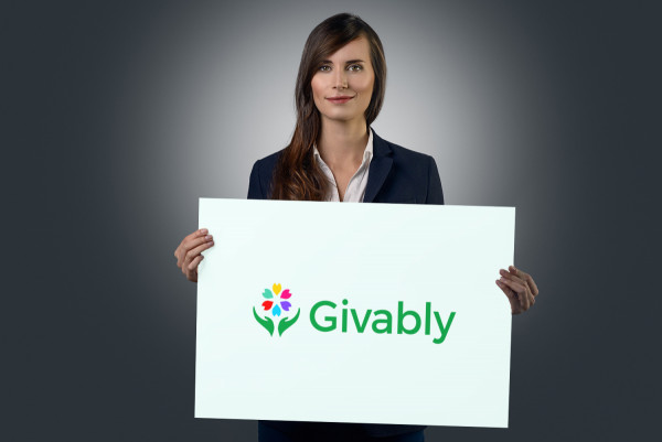 Sample branding #1 for Givably