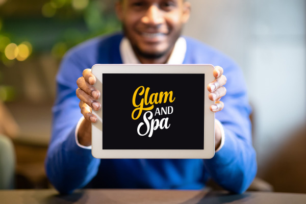 Sample branding #3 for Glamandspa