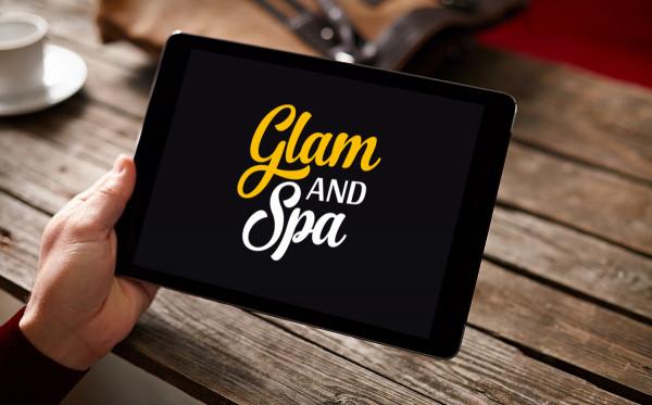 Sample branding #2 for Glamandspa