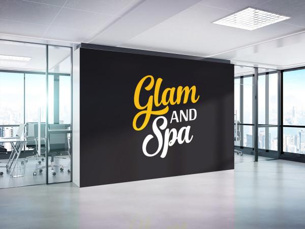 Sample branding #1 for Glamandspa