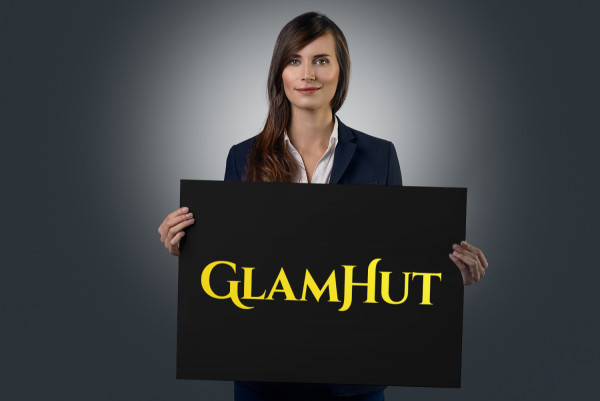 Sample branding #1 for Glamhut
