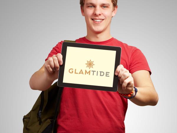 Sample branding #3 for Glamtide