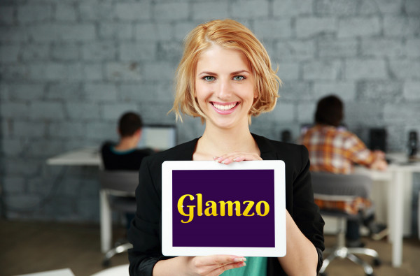 Sample branding #1 for Glamzo