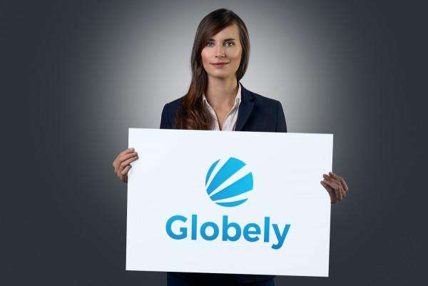 Sample branding #1 for Globely