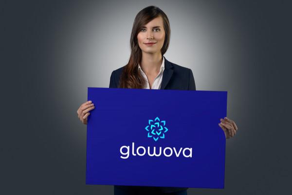 Sample branding #1 for Glowova