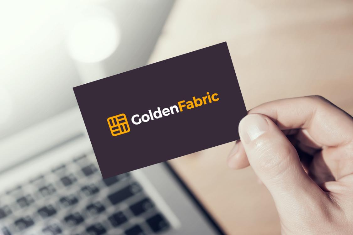 Sample branding #3 for Goldenfabric