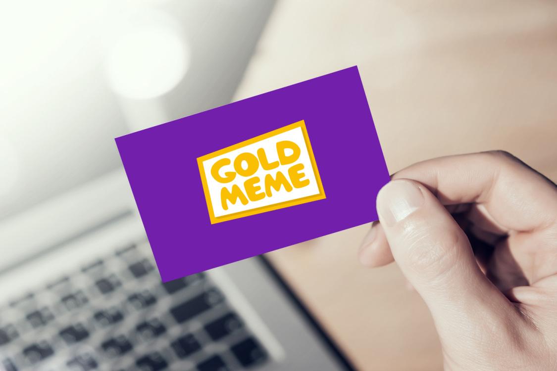 Sample branding #3 for Goldmeme