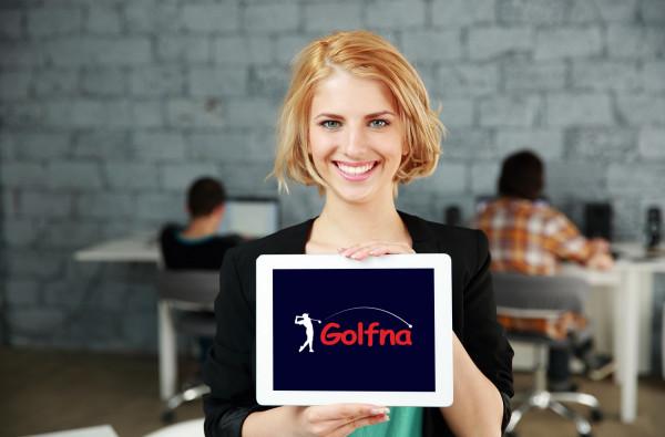 Sample branding #2 for Golfna