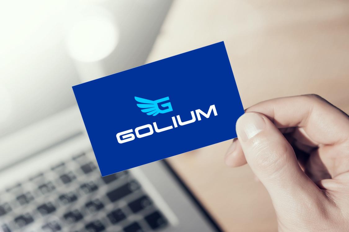 Sample branding #1 for Golium