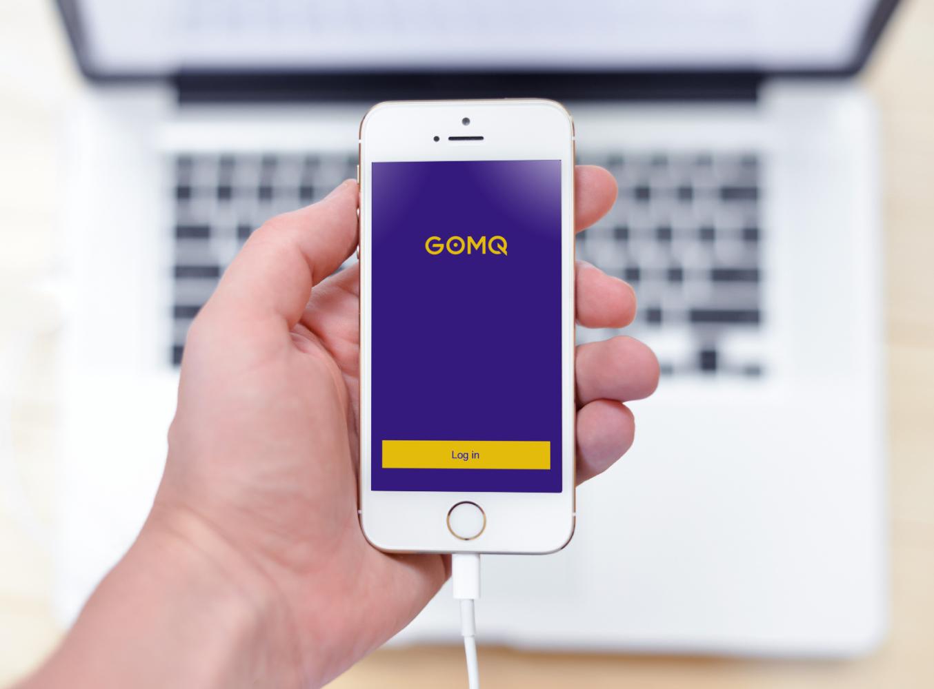 Sample branding #1 for Gomq