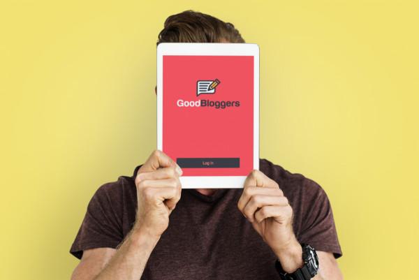 Sample branding #2 for Goodbloggers