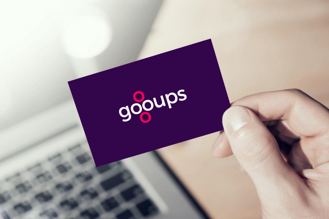 Sample branding #3 for Gooups