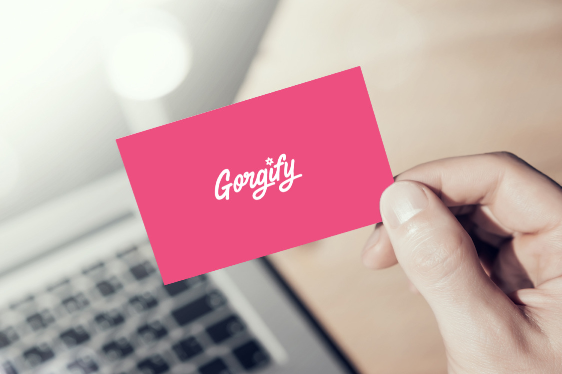 Sample branding #2 for Gorgify